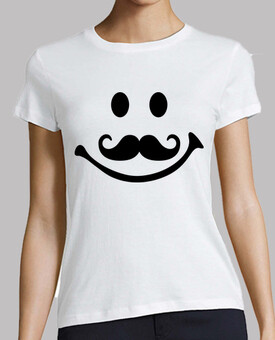 smiley moustache