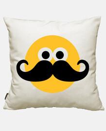 Smiley Moustache face