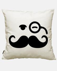 Smiley Moustache monocle