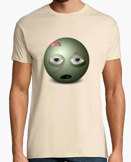 Camiseta Smiley Zombie