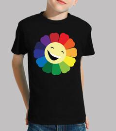 smiling / chromatic daisy