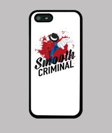 SMOOTH CRIMINAL / Funda iPhone 5 / 5s, negra