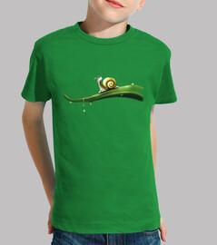 snail / snails / leaf / drop / drops
