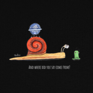 Camisetas Snail and ufo