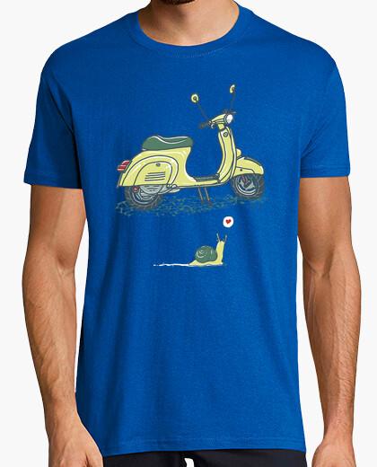 Snail and vespa shirt t-shirt