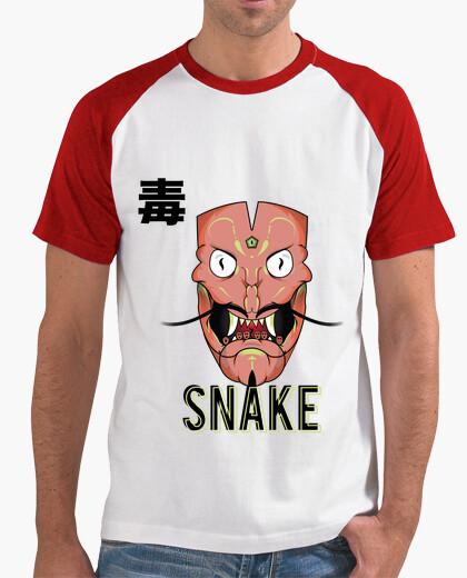Camiseta Snake mask