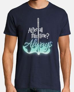 Snape hero black tshirt