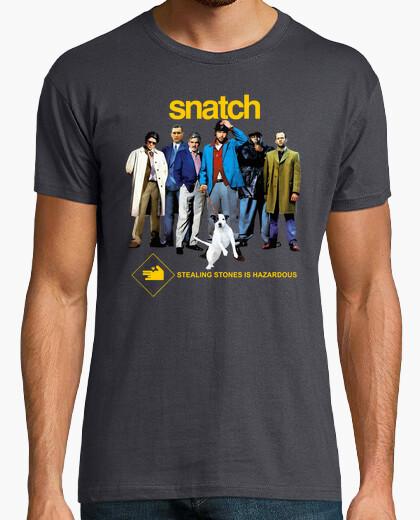Camiseta Snatch. Cerdos y diamantes