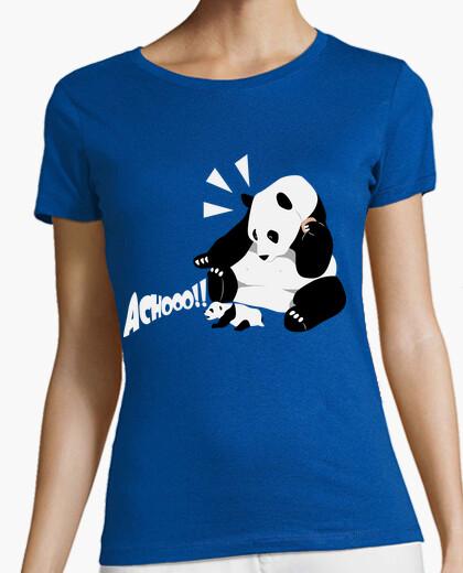 Camiseta Sneezing panda