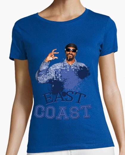Camiseta Snoop Dogg  East Coast