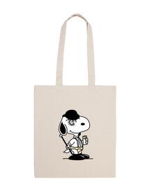 Snoopy Naranja Mecánica - Bolsa
