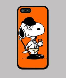 Snoopy Naranja Mecánica - Funda de Móvil