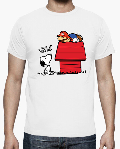 Snoopy vs Mario T-shirt for Men or Women