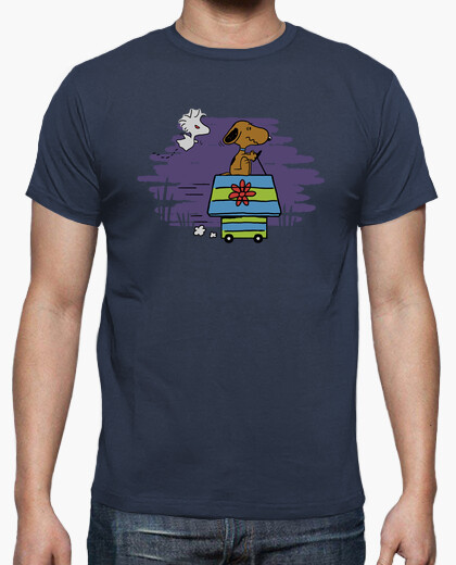Snoopy Doo Mystery Machine Doghouse T-shirt