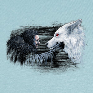 snow y fantasma T-shirts