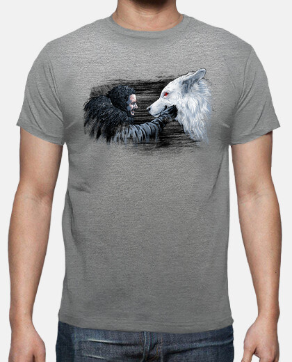 snow y fantasma camiseta