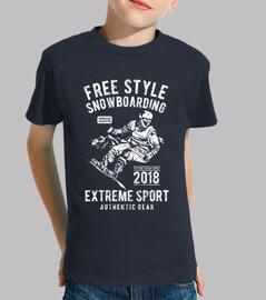 snowboard de style libre
