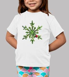 Snowy Pine Snowflake Christmas