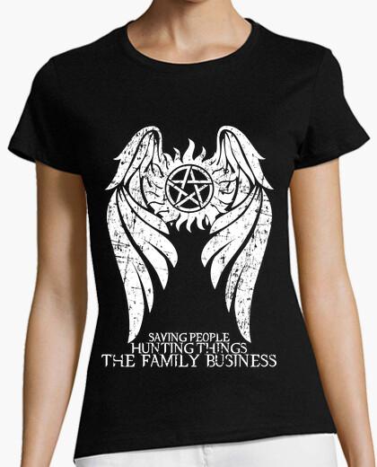 Sobrenatural - light ver. - mujer camiseta