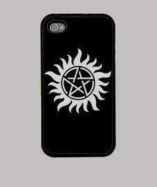 Sobrenatural - Winchester tattoo (blanco)
