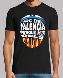Sóc del València perquè m'ix dels collo