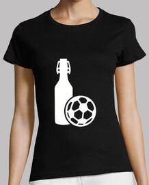 soccer ball beer