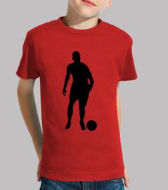 soccer silieta fubolista