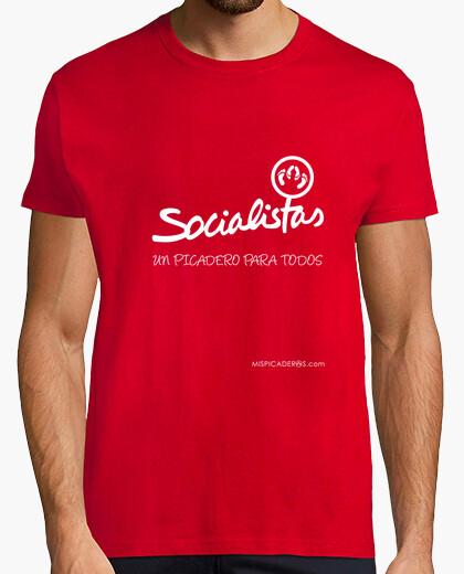 Camiseta Socialistas, un picadero para todos
