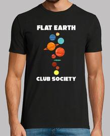 société de la terre plate - terre plate