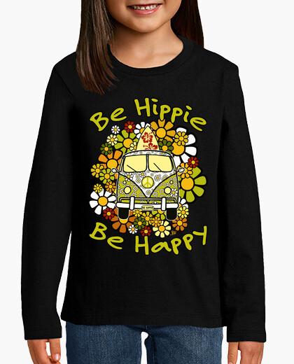 Vêtements enfant sois hippie sois heureux
