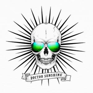 Camisetas sol cráneo