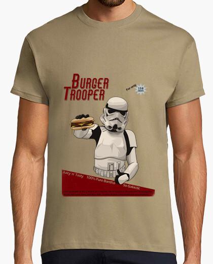 Camiseta soldado hamburguesa