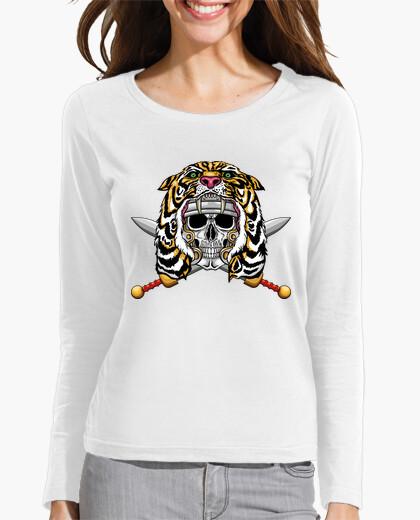 Camiseta Soldado romano con capucha de tigre