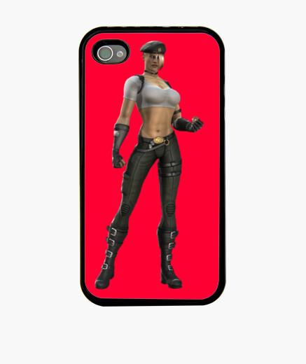 Funda iPhone Soldier woman