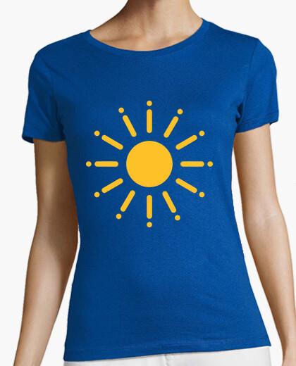 T-shirt sole caldo