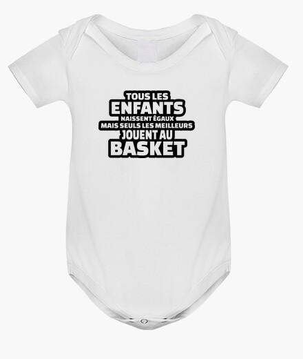 Ropa infantil solo el mejor juego de baloncesto