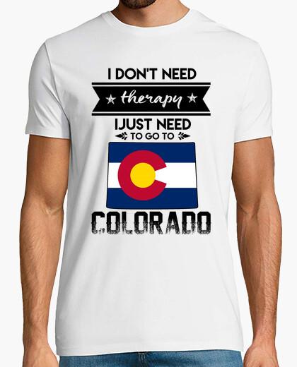 Camiseta solo necesito ir a colorado