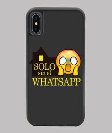 Solo sin el whatsapp