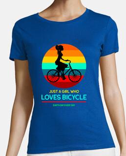 solo una chica que ama la bicicleta