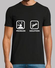 solution du problème de l'homme chemise fun