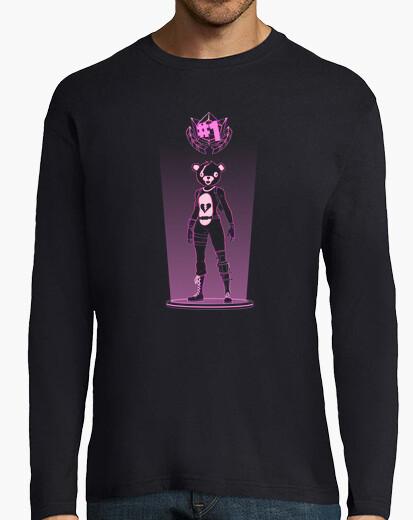 Camiseta sombra del oso de peluche