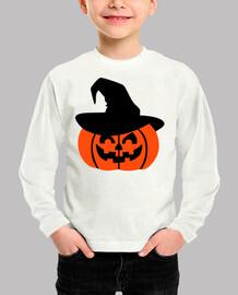 sombrero de calabaza de halloween