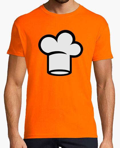 Camiseta sombrero de chef de la cocina