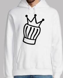 sombrero de cocina corona