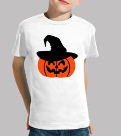 sombrero de la calabaza de halloween