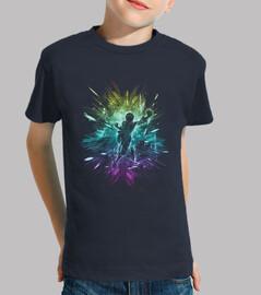 sombrero de paja versión de la tormenta-arco iris