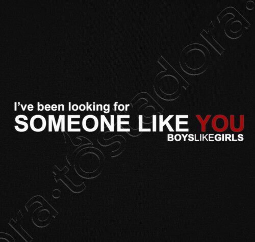 Looking for someone like you