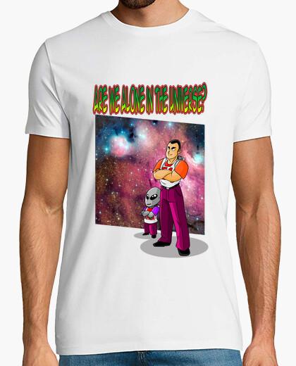 Tee-shirt sommes-nous seuls dans l'univers?