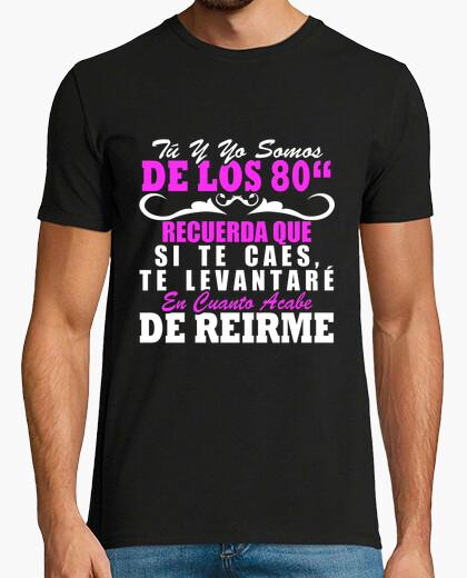 Camiseta Somos de los 80 chico