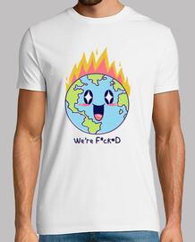 somos f * cked shirt mens